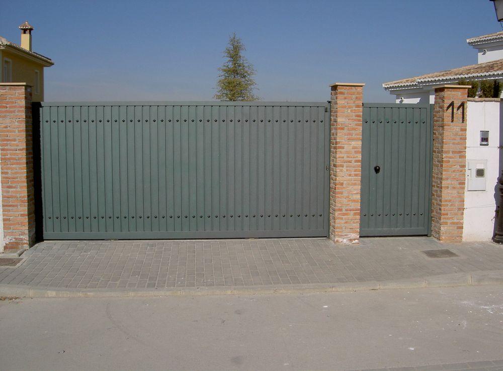 Puerta corredera garaje ar puertas alberto rodr guez for Puertas de garaje precios