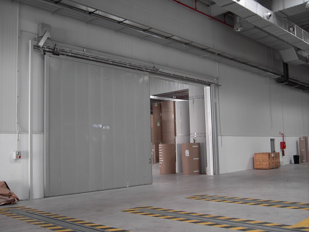 Puerta corredera cortafuegos puertas alberto rodr guez - Puerta corredera industrial ...