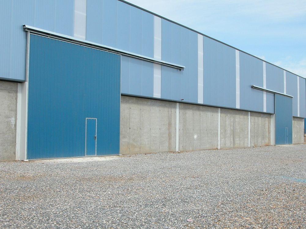 Puerta corredera industrial ar puertas alberto rodr guez - Puerta corredera industrial ...