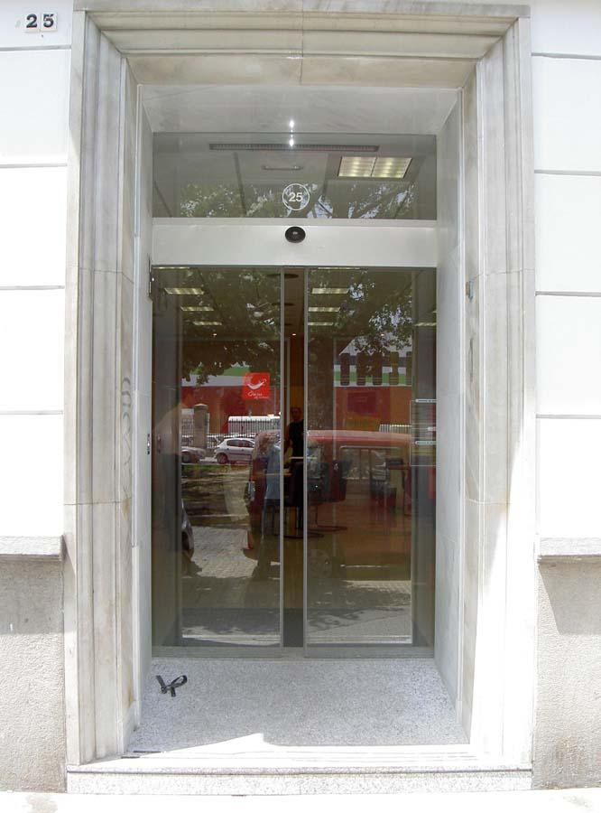 Puerta automática corredera